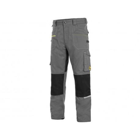 KP161TM Pánské kalhoty stretch do pasu tmavě modré