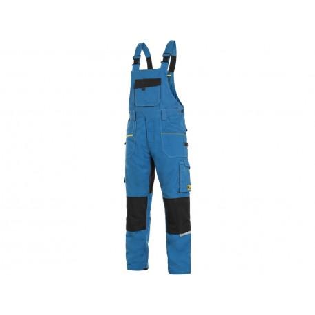 KP162SM Pánské kalhoty stretch laclové středně modré